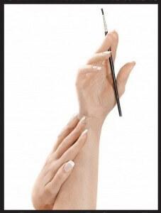 pinceles para uñas acrílicas