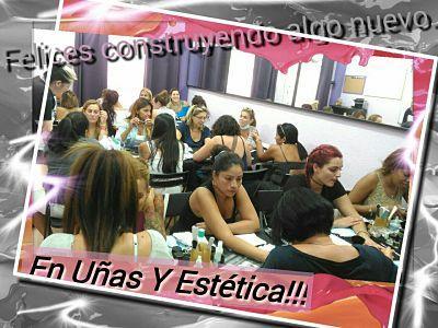 fotos curso uñas gel y acrílico 21/08/16