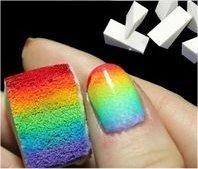 Arcoíris en tus uñas