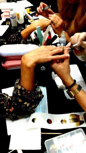 Fotos de las alumnas curso de uñas acrílico y gel 23/10/16