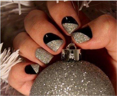 Diseños de uñas para Nochevieja