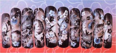Impresión en uñas