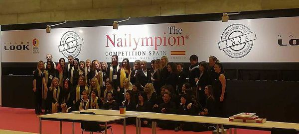 Jueces del Nailympion Competition Spain 2017