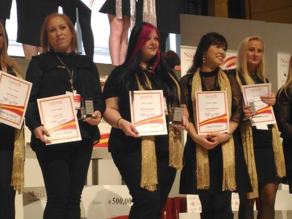 Ceremonia de cierre Nailympion Competition Spain 2017