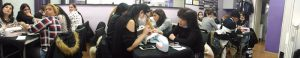 Fotos de los alumnos del curso de uñas de gel y acrílico del día 26/11/2017