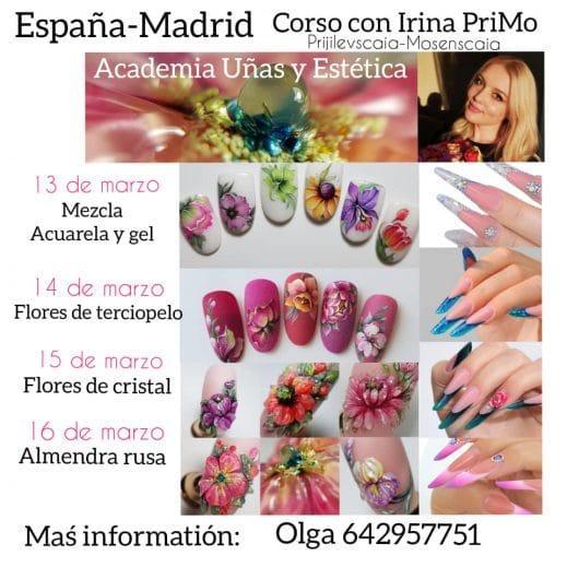 Curso con Irina PriMo en Madrid