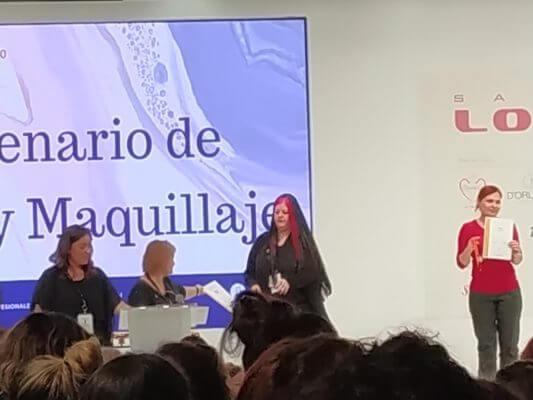 Entrega premio Nailympion Spain 2019