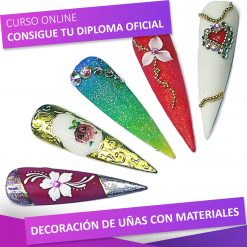 curso de decoración de uñas con materiales