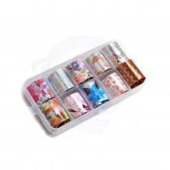 caja foils floral
