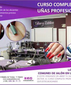 Curso completo de uñas en academia Uñas y Estética