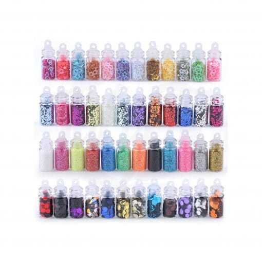 glitter pack 48 piezas