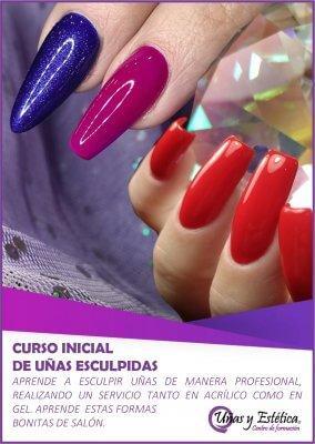 Curso de uñas de acrílico y gel en Uñas y Estética