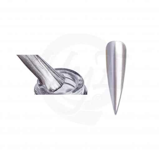 esmalte cromado plata